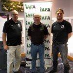 GFL tutors Christian and Heinz with Director of Officiating Derek Ward