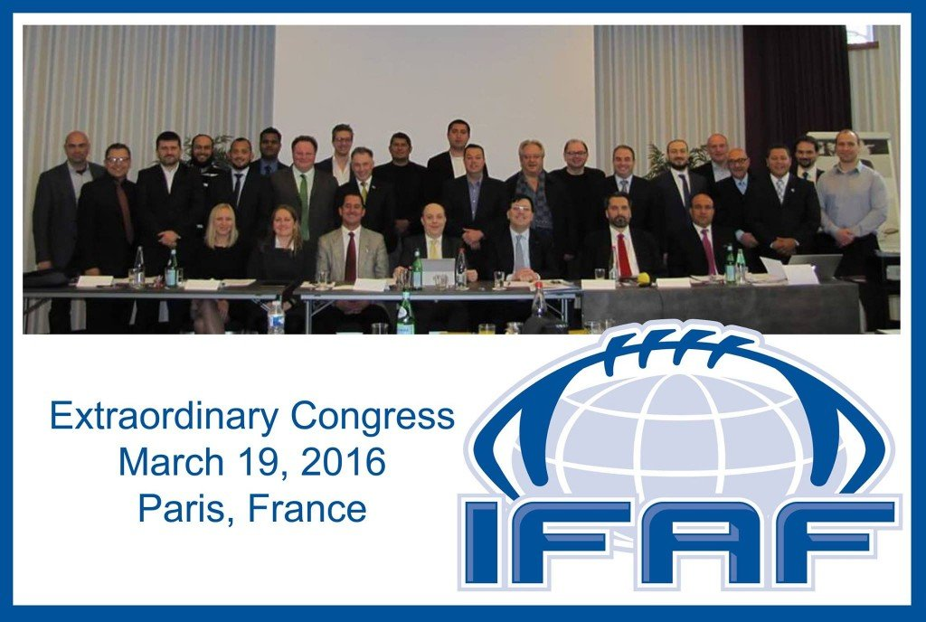 IFAF Extraordinary Congress March 2016