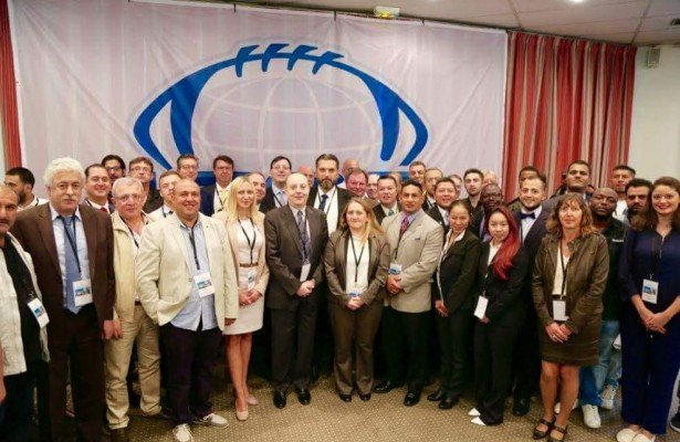 Delegates at the 2016 IFAF Congress in Paris.