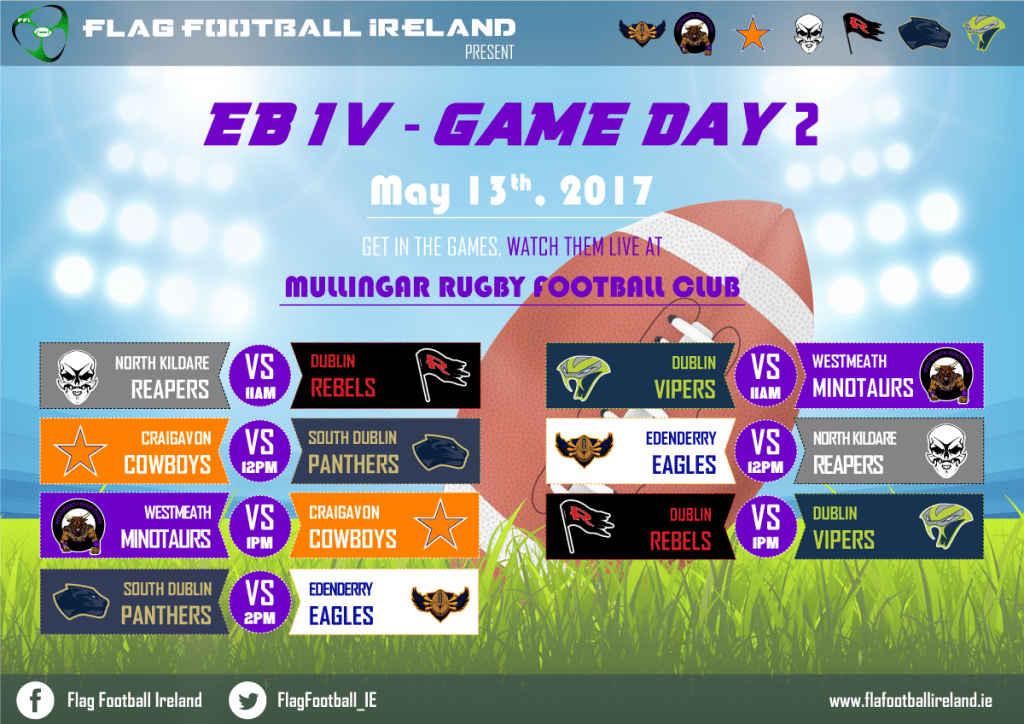 EBIV-Game Day 2 Poster