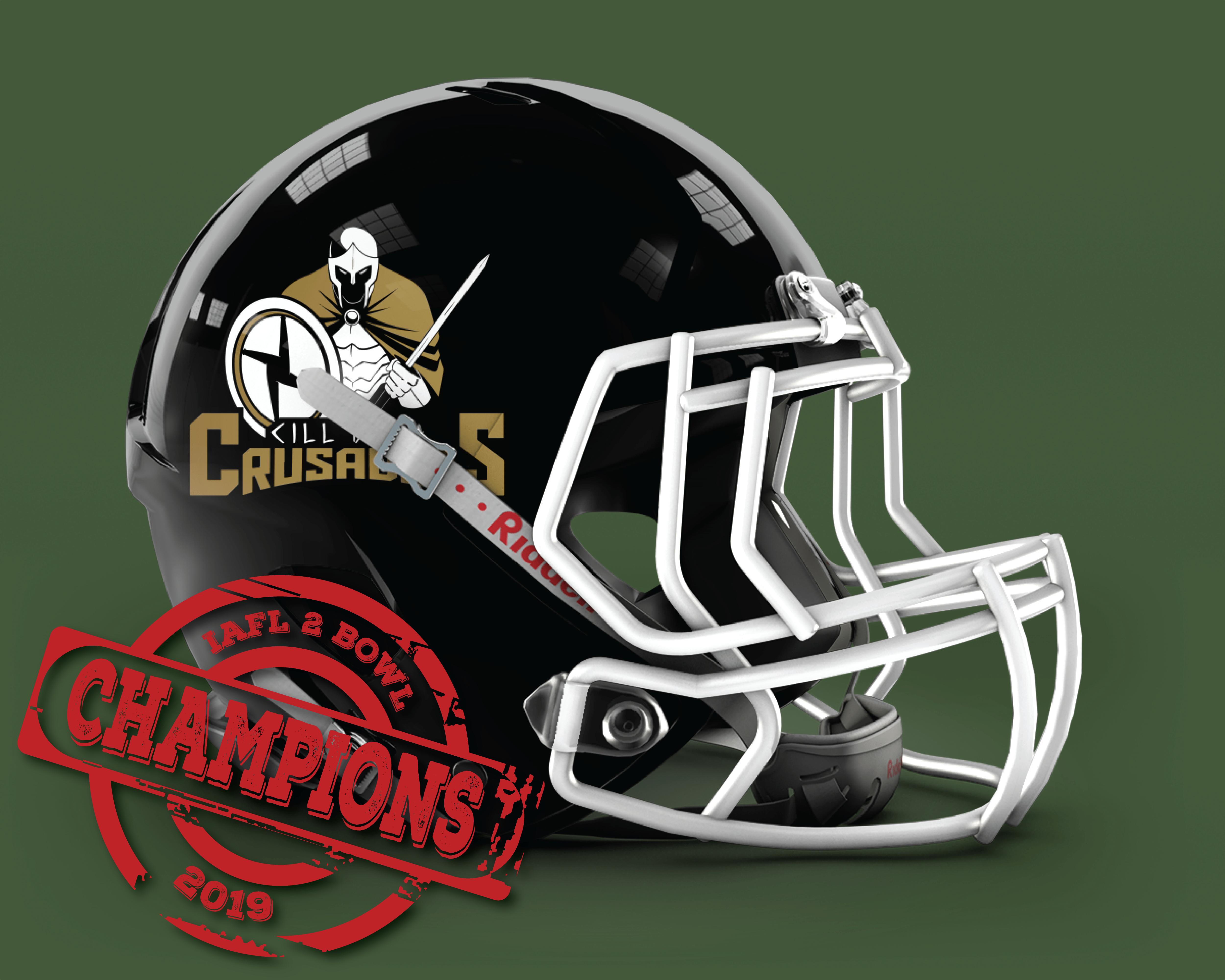 Cill Dara Crusaders IAFL2 Bowl 2019 Champions
