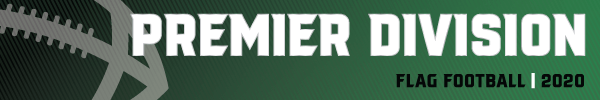 Banner Flag Football Premier Division One 2020
