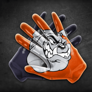 EBC_Flag Football Gloves_Bulldogs
